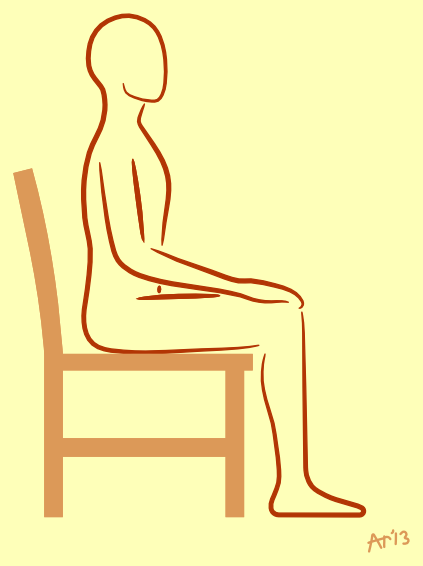 Surprising Sitting On A Chair Artreeyoga Download Free Architecture Designs Scobabritishbridgeorg