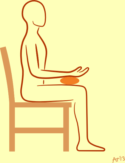 SitOnChairWristSupport