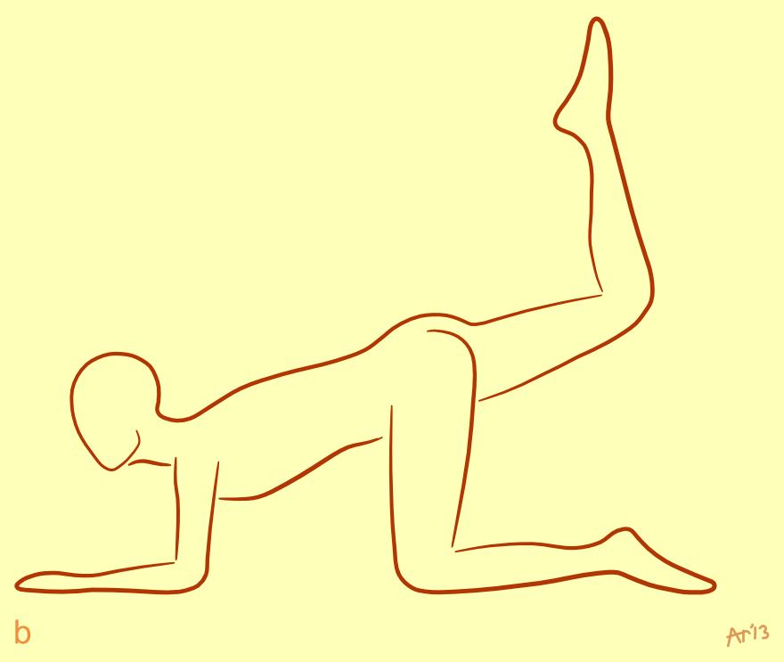 Scorpion Pose B